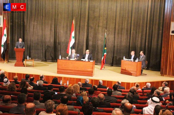 جنوب إفريقيا تنقل تجربتها في المصالحة إلى سورية