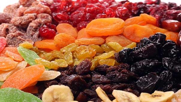 ماهي فوائد تناول الفواكه المجففة؟؟